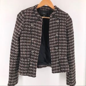 Mango MNG Collection Fitted Cropped Blazer